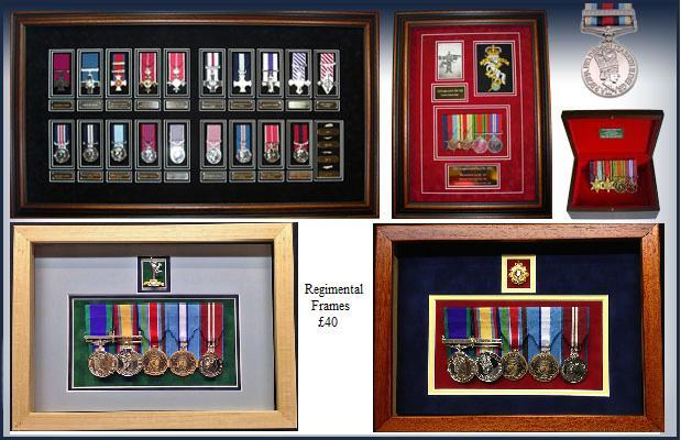 Promotion : Medal Framing