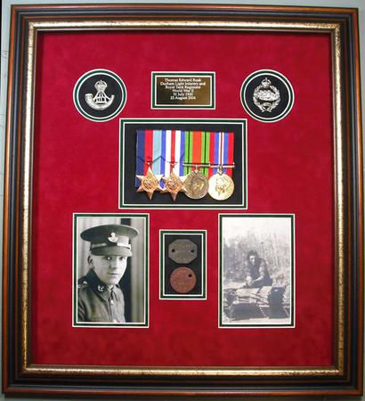 MEDAL FRAMES and DISPLAY CASES