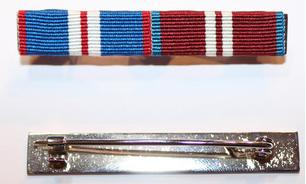 Full Size Pin on Ribbon Bar