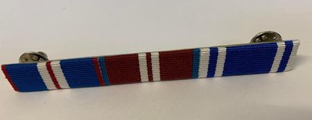 Q G J M, Q D J M, POLICE LS&GC  CLUTCH AND PIN ON RIBBON BAR