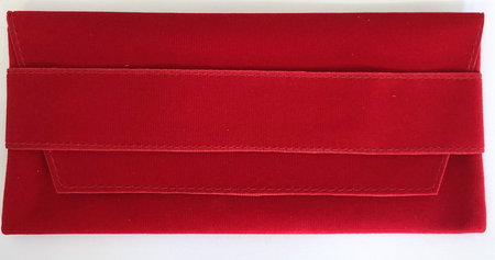 Red Velvet Medal Wallet