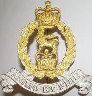 AGC SPS Officers Cap Badge
