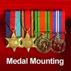 Full Size Medal Court Mounting