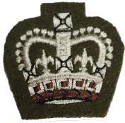 Service Dress S/SGT Crown